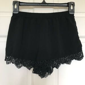 Forever 21 Lace Casual Shorts